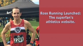 New athletics website launched: Ross Running, for the superfan.
