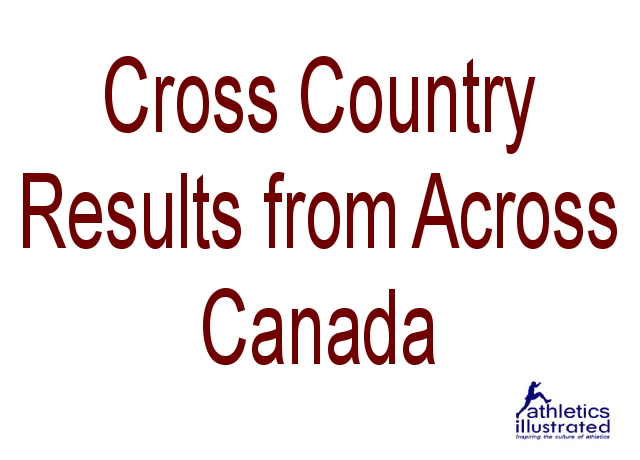 Cross Country Results from Across Canada