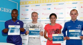 Marathon Duesseldorf ond Sunday: Sanga attacks course record