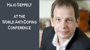 Hajo Seppelt at the 2013 World Anti-Doping Conference