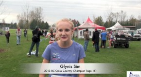 Glynis Sim – 2013 BC Cross Country Championships