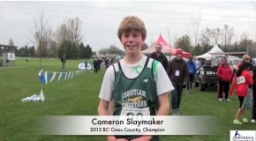 Cameron Slaymaker – 2013 BC Cross Country Championships