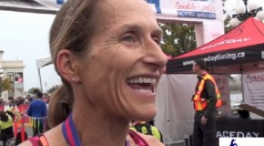 Lucy Smith Interview – 2014 GoodLife Fitness Victoria Half Marathon