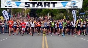 Daniel Kipkoech and Jane Murage win the 27th annual TC10K
