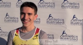 2014 Canadian Cross Country Championships: Riley Tell Interview
