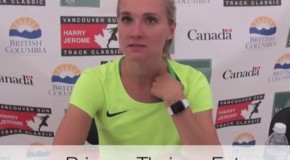 Brianne Theisen-Eaton interview – 2016 Harry Jerome Track Classic