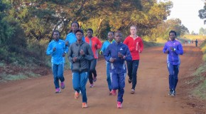 TARAH MCKAY-KORIR RUNNING FOR KENYAN KIDS