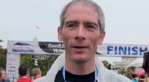Oliver Utting Interview – 2014 GoodLife Fitness Victoria Marathon