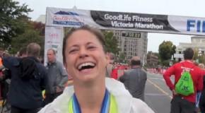 Eva Vail Interview – 2014 GoodLife Fitness Victoria Marathon