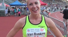 Kate Van Buskirk Interview – 2014 Harry Jerome Track Classic