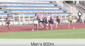 Vic City Invite – 2017 – Men's 800m race video