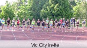 """Race video: Vic City Invite  – Women's 1500m """"A"""" race"""