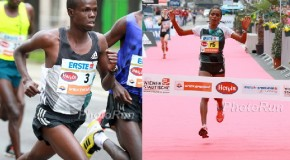 Robert Chemosin and Shuko Genemo win in windy Vienna