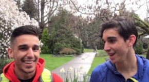 Nathan and Isaac Wadhwani Interview – 2015 BMO St. Patrick's Day 5K