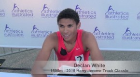 2015 Harry Jerome Track Classic: Declan White Interview