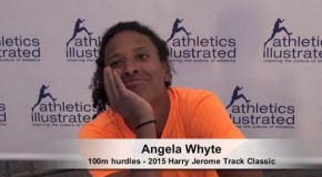 2015 Harry Jerome Track Classic: Angela Whyte Interview