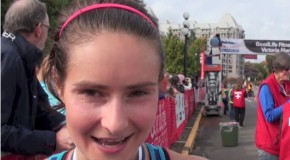 Sabrina Wilkie interview, winner of the 2016 GoodLife Fitness Victoria Marathon