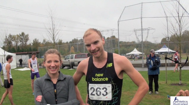 Chris Winter – Interview – BC Cross Country Championships