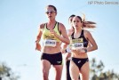 Natasha Wodak, Dylan Wykes Competitive at Rock 'n Roll Half Marathon in Arizona
