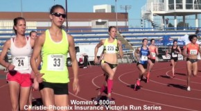 Victoria Run Series: Fiona Benson's 800m race in 2:01.58