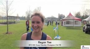 Regan Yee – 2013 BC Cross Country Championships