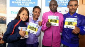 Geoffrey Ronoh seeks to conquer the marathon distance in Prague