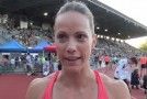 Jessica Zelinka Interview – 2014 Harry Jerome Track Classic