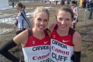 Natasha Wodak and Rachel Cliff, two top seeds for Sunday's 33rd Sun Run