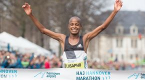 April and Gabius will be challenged by Kenyans in Hannover