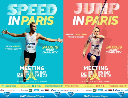 Mayer and Lavillenie ready to inspire at Charléty on August 24 during Meeting de Paris