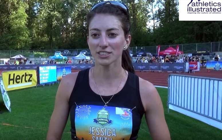 Jessica Smith interview at 2019 Pacific Distance Carnival   Athletics Illustrated