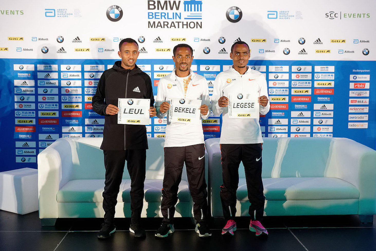 adidas' Fastest Runners Will Compete in Berlin Marathon with