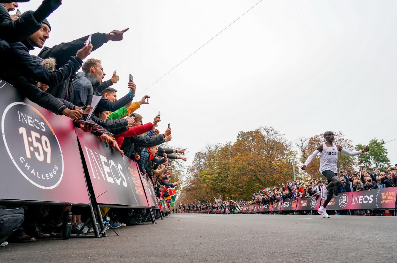 Mass interest from Eliud Kipchoge sub-2-hour run - Athletics Illustrated