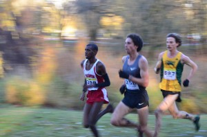 Lead Pack: Mo Ahmed, Cameron Levins, Kelly Wiebe